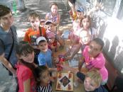 Цими вихідними маленькі вінничани відзначали День шоколаду, грали у «Веселі старти» та «Морську подорож»
