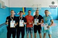 Вінницькі патрульні здобули призові місця у змаганнях з армрестлінгу