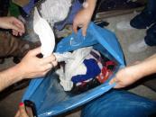 Працівники Терцентру передали пацієнтам лікарні ім. Ющенка частину речей, зібраних у спецконтейнерах по місту