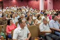Всесвітньо відомі онкохірурги говорили в Вінниці про жіночу онкологію