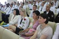 Поліцейських Вінниччини привітали з першою річницею створення Нацполіції України
