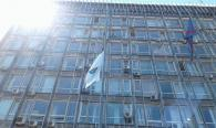 На майдані Незалежності підняли Олімпійський прапор з нагоди відкриття Олімпійських ігор у Ріо