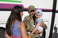 """Бійці """"Вінниці"""", які два місяці несли службу у зоні АТО, повернулись додому"""