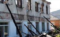Сім'ям, які залишились без житла через пожежу в Бару, з обласного бюджету виплатять матеріальну допомогу