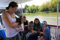 Для маленьких вінничан, які потрапили в складні життєві обставини, організували відпочинок на катерах