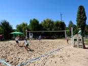 До Дня Незалежності в парку Дружби народів провели відкритий кубок з пляжного волейболу