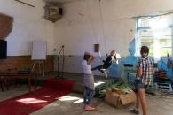 Як за допомогою енергії молоді з різних країн та творчого запалу перетворити пустку на арт-центр