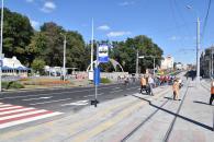На площі Гагаріна завершено всі роботи по масштабній реконструкції