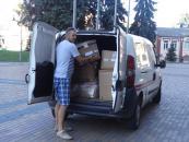 З американського міста Бірмінгем у Вінницю прибув гуманітарний вантаж з ліками для атовців