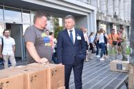 Вінничани відправили в зону АТО майже 9 тон гуманітарного вантажу