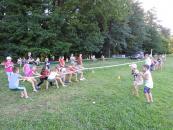 В дитячих оздоровчих закладах області проводили спортивні змагання «Олімпійське літо»