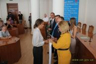 Кращих спортсменів та олімпійців Вінниччини нагородили грамотами