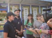 Вінницькі поліцейські провели спільне патрулювання з журналістами