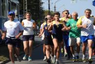 """Вінниця зустріла учасників марафону """"Всесвітній біг заради гармонії"""""""
