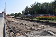 Біля музею-садиби ім. М.І. Пирогова реконструюють перехрестя