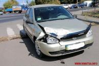"""ДТП на Замості: водій """"ВАЗу"""" не пропустила машину """"швидкої"""", яка поспішала врятувати дитину із травмою голови"""