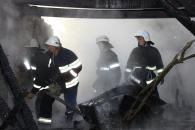 Неподалік Стрижавки вщент згоріло приміщення заміського кафе
