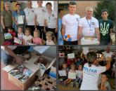 На Вінниччині вихованці дитсадка малювали малюнки та разом з батьками закупили 10 кг сала для бійців АТО