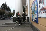 У Вінниці рятувальники гасили умовну пожежу в театрі Садовського