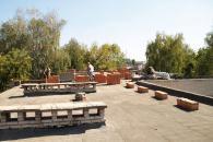 В дитячому садочку №77 утеплюють дах і фасад закладу
