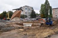 Вже за два місяці мешканці Вишеньки отримають ще одну сучасну зону відпочинку – на площі К. Могилка