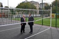В цьому році учні ще однієї школи будуть займатись фізкультурою на новому сучасному спортивному майданчику