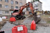В районі вулиць Київської та С.Зулінського завершується реконструкція мережі теплопостачання