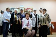 До Дня людей похилого віку вінницький Територіальний центр організував свято для своїх відвідувачів