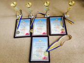 Вінницькі гімнастки вдало виступили на чемпіонаті України серед школярів