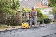 В приватному секторі Вінниці продовжується асфальтування вулиць у складчину з мешканцями. Перелік вулиць
