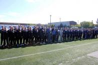 У футбольному поєдинку серед службовців фіскальної служби перемогли вінницькі податківці