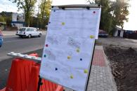На Немирівському шосе влаштовують розподільчу смугу з відбійниками, зупинки громадського транспорту та мережу освітлення