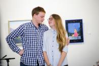 В галереї «Інтершик» вінничани подивились прем'єру вистави «Тій, яку люблю»