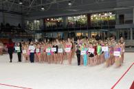 На відкритий Кубок з художньої гімнастики до Вінниці з'їхались 252 учасниці з 14 міст України