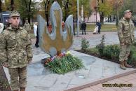 Фоторепортаж з нагоди 72-річниці визволення України від нацистських загарбників