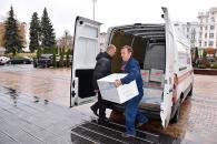 Місто-побратим Бірмінгем передало вінницьким військовим чергову гуманітарну допомогу вагою 200 кілограм