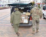 Близько чотирьох з половиною тон гуманітарного вантажу відправили сьогодні з Вінниці у зону АТО