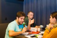 """Студенти вінницьких вишів """"мірялися"""" інтелектом на молодіжній лізі з гри """"Що? Де? Коли?"""""""