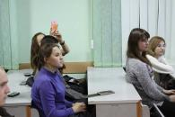 Вінницькі поліцейські показали студентам аграрного університету прийоми самозахисту