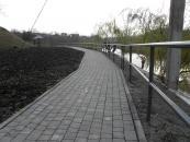 До кінця цього року у Вінниці завершиться капремонт набережної біля озера в районі олійножирового комбінату