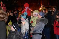 Головна ялинка Вінниці засяяла новорічними вогнями