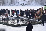 Фоторепортаж з відзначення Водохреща у Вінниці
