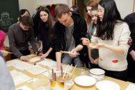 У ВНТУ студенти та викладачі готували пельмені та проводили китайський Новий рік
