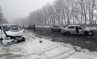 В Хмільницькому районі сталась потрійна аварія - шестеро людей у лікарні