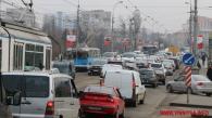 Вінничан закликають пересідати на громадський транспорт, щоб розвантажити затори у місті