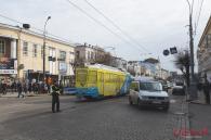 У Вінниці протестувальники перекрили центр міста