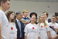 Діагностичне обладнання за півмільйона доларів подарували японці для вінницького військового госпіталю