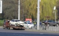 """Зранку на площі Гагаріна """"не розминулись"""" два автомобіля. Є постраждалі"""