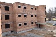 В мікрорайонні Поділля вже збудовано три поверхи першого блоку нової школи