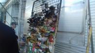 Зранку сталась пожежа на Центральному ринку - горіли торговельні контейнери